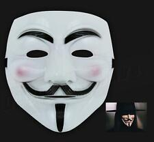 Fancy Dress V for Vendetta Mask Guy Fawkes Movie Anonymous Halloween