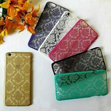 "Vintage Damask Transparent Hard Cover Shell Case For iPhone 6/6s PLUS (5.5"")"