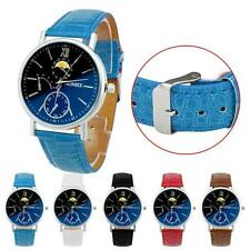 Fashion Women Girl Analog Quartz Faux Leather Wrist Watch Watches Black Friday