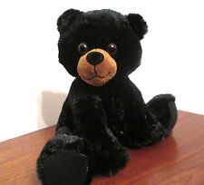 Black Bear Cub With Music Box Movement Inside, 9 Inch Plush Stuffed Animal