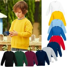Fruit of the Loom,  Kids Classic Set-In, Kinder Sweat Shirt, Gr. 104-164