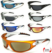 NEW XLOOP MEN WOMEN WRAP RECTANGLE SUNGLASSES SPORT CYCLING RUNNING FREE POUCH