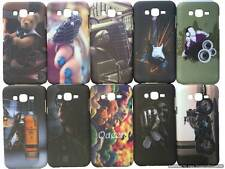 For Samsung Galaxy J7 Back Cover Touch Feel Night Glow Printed Hard Cover Case