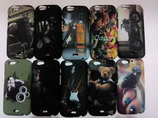 For Micromax Canvas Turbo A250 Back Cover Night Glow TouchFeel Printed Hard Case