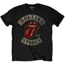 ROLLING STONES T-Shirt Tour 78 Black All Sizes NEW OFFICIAL Tongue Logo Jagger