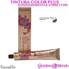 TINTURA CAPELLI 100ml TINTA SUPERSCHIARENTI CORRETTORI LIFE COLOR PLUS FARMAVITA
