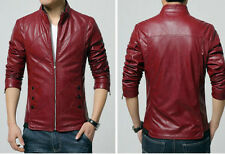 Premium Biker Custom Designer Motorcycle Pure Leather Jacket for Men
