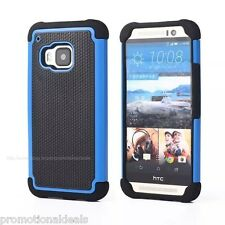 PREMIUM STYLE GRIP RUGGED Protective HARD BACK CASE COVER FOR HTC One M9