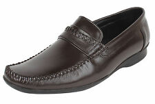 Guava Leather Formal Shoe - Brown | Mens Formal Loafers