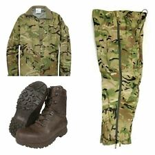 BRITISH ARMY MTP LIGHTWEIGHT GORETEX JACKET AND TROUSERS SET - USED - WATERPROOF