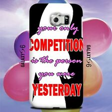 Gym Exercise Motivational Quotes Design for Samsung Galaxy Cover Case