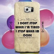 Positive Motivational Quotes Design for Samsung Galaxy Cover Case