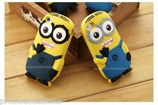 Cute Little Minion 3D Silicone Back Case Cover For Apple iPhone 5 / iPhone 5G