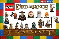 LEGO MINIFIGURES, THE HOBBIT & LORD OF THE RINGS NEW GENUINE MINI FIGURES