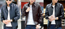 Blue Tan Black Biker Custom Designer Motorcycle Genuine Leather Jacket for Men