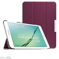 "ProElite Ultra Sleek Flip Case cover for Samsung Galaxy Tab S2 9.7"" T810 T815 Pu"