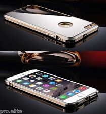 "Luxury Mirror Aluminum Metal Bumper Case cover for Apple iPhone 6S 4.7"" (Gold)"