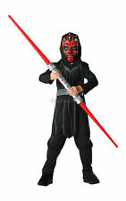 #CHILD BOYS DARTH MAUL OUTFIT STAR WARS HALLOWEEN BOOK WEEK FANCY DRESS 3 SIZES