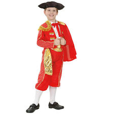 #Bull Fighter Matador Spanish National Dress Child Fancy Dress Complete Outfit