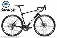 GIANT bici corsa DEFY ADVANCED 1 carbonio Shimano Ultegra freni disco comoda