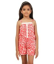 Oxolloxo Girls Peach Playsuit(W15238GOV002)