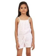 Oxolloxo Girls Cotton Playsuit(W15238GOV003)
