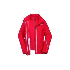 THE NORTH FACE GIACCA 3 IN 1 DONNA ROSSA