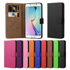 For Samsung Galaxy S6 Edge Plus Magnetic Wallet Stand Leather Flip Case Cover