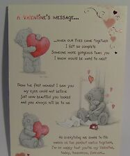 Me To You Valentines Day Cards Various Designs etc (List Two)