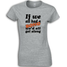 If We All Had A Bong Womans Cotton Tee, T-Shirt Funny TS901
