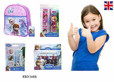 FROZEN Kids Stickers Erasers Pencil Box Stationary Backpack School Bag ANNA ELSA