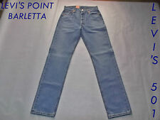 Jeans Levi's 501.01.06 Red Tab Button Fly Taglia W 27 28 29 30 31 32 33 38