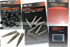 NEW Ace CARP Tackle Anti Tangle SLEEVES Boilie STOPS Hook Ring BEADS Silt Weed