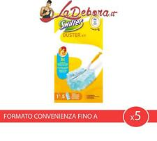 x5 Swiffer Duster kit + 5 Piumini di ricambio