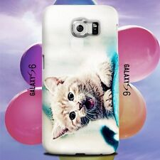 Cute Cat Kitten Design for Samsung Galaxy Cover Case
