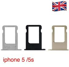 Replacement Apple iPhone 5 /5s Nano Sim Card Tray Holder + Eject Pin All Colours