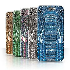 STUFF4 Phone Case/Back Cover for HTC One A9 /Aztec Animal Design