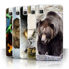 STUFF4 Phone Case/Back Cover for Huawei Honor 7i/ShotX /Wildlife Animals