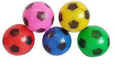 PLASTIC PVC FOOTBALLS FLAT PACKED UNINFLATED WITHOUT NET SPECIAL OFFER JOB LOT