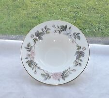 Royal Worcester Fine Bone China June Garland Pattern Soup Bowl