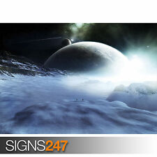 WALKING IN UNIVERSE (3128) Photo Poster Print Art * All Sizes - 2nd HALF PRICE!