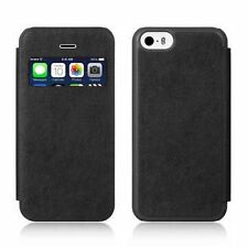 Quality Flip PU Leather Slim Window View Case Stand Cover For Apple iPhone 5C