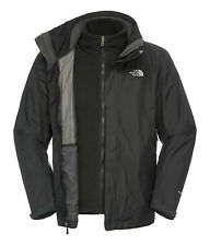 The North Face Mens Evolution II Triclimate Jkt, nero