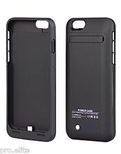 """Back case Cover for Apple iPhone 6 & 6S 4.7"""" with inbuilt 3500mAh Power Bank BLK"""