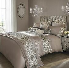 Designer Kylie Minogue PETRA Nude Sparkly Bed Linen Bedding  Duvet Cover