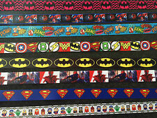 Superhero Superman Girls Batman Avengers Hulk Wonder Spiderman Minion Ribbon