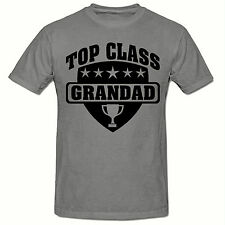 TOP CLASS GRANDAD T SHIRT, FUNNY NOVELTY MEN'S T SHIRT,SM-2XL