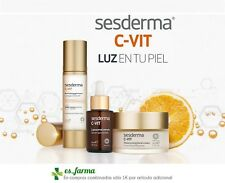 SESDERMA C-VIT LUMINOSIDAD CREMA 50ML GEL 50ML  SERUM 30ML CONTORNO OJOS  CVIT