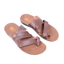VKC Pride Men 1401 Brown Sandals Slippers, MRP: 299