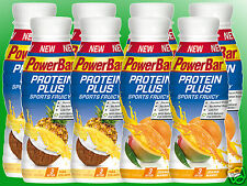 (8,69€/l)   Powerbar Protein Plus Sports Fruicy - 8 x 330ml